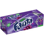 Fanta Grape Soda Fridge Pack