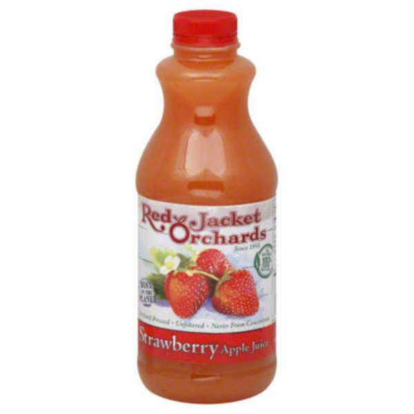 Red Jacket Orchards Strawberry Apple Juice