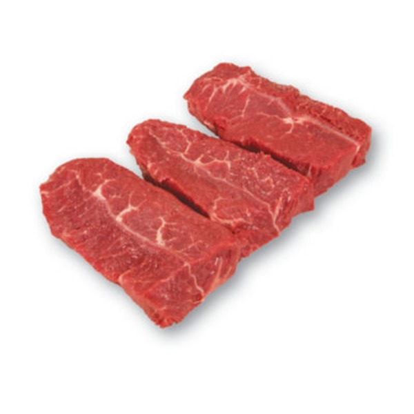 USDA Select Boneless Thick Cut Beef Top Blade Steak
