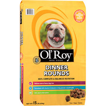 Ol' Roy Dinner Rounds Dry Dog Food