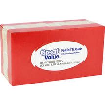 Great Value Facial Tissue