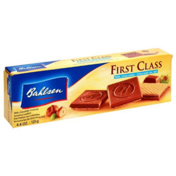 Bahlsen First Class Crispy Wafers with Hazelnut Praline Milk Chocolate