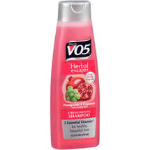Alberto VO5 Herbal Escapes Pomegranate & Grapeseed Strengthening Shampoo