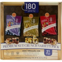 180 Snacks Premium Nut Crunch Variety Pack