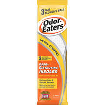 Odor-Eaters Ultra Comfort Odor Destroying Insoles