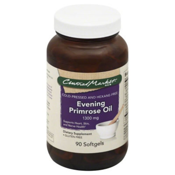 Central Market Evening Primrose Oil 1300 Mg Softgels