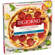 DiGiorno Thin & Crispy Pepperoni and Peppers Pizza