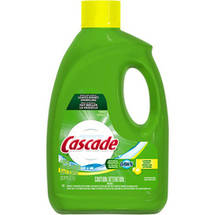 Cascade Dishwasher Detergent Lemon