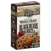 Lundberg Family Farms Organic Whole Grain Black Beans & Rice Rice & Seasoning Mix
