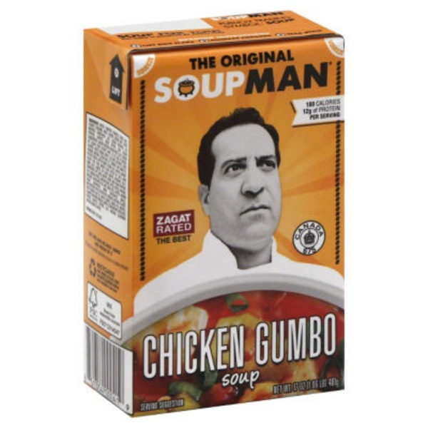 The Original Soupman Chicken Gumbo Soup