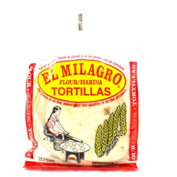 El Milagro Regular Flour Tortillas