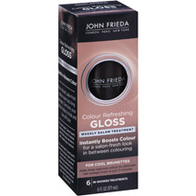 John Frieda Colour Refreshing Gloss for Cool Brunettes