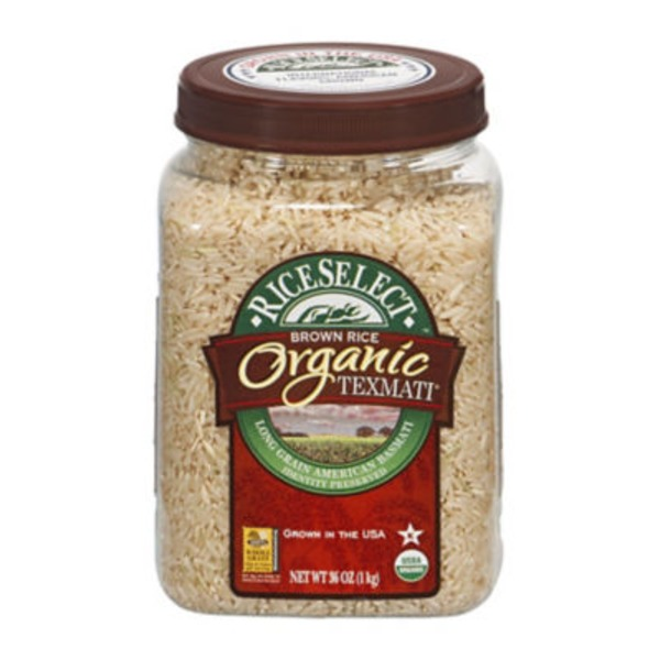 RiceSelect Texmati Organic Brown Rice