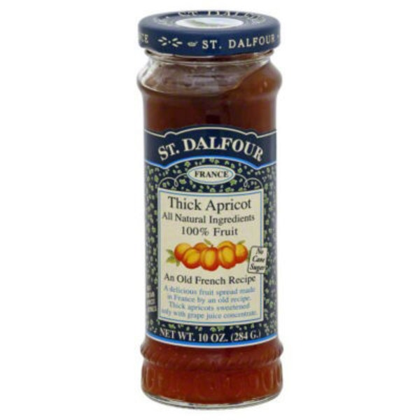 St. Dalfour Deluxe Thick Apricot Fruit Spread