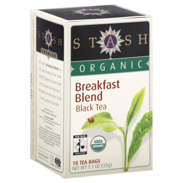 Stash Tea Organic Breakfast Blend Black Tea