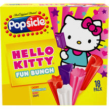 Popsicle Hello Kitty Fun Bunch Ice Pops