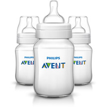 Philips Avent Classic+ 9 Ounce Bottles Clear