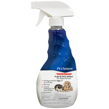 PetArmor FastAct Plus Flea and Tick Spray for Dogs and Cats