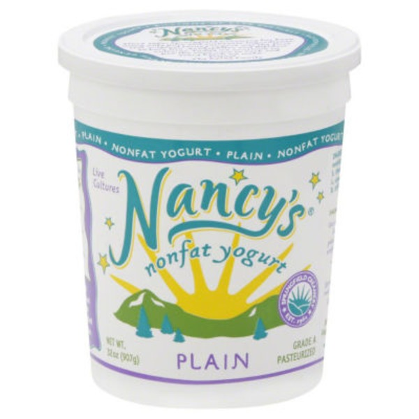 Nancy's Plain Nonfat Yogurt