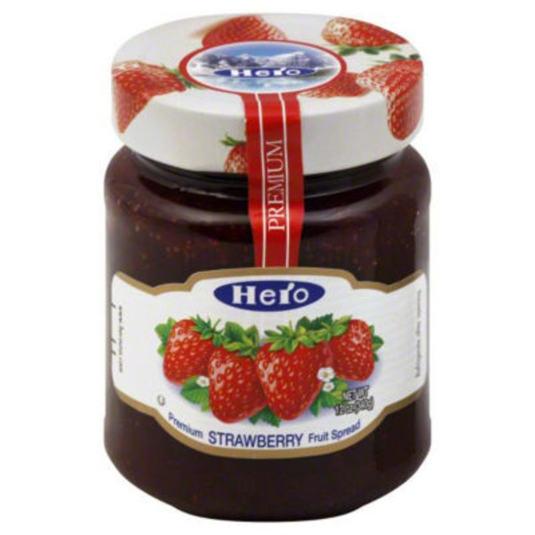 Hero Premium Strawberry Fruit Spread