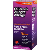 Allegra Children's 12-Hour Allergy Relief Liquid