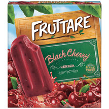 Fruttare Black Cherry Fruit Ice Bars