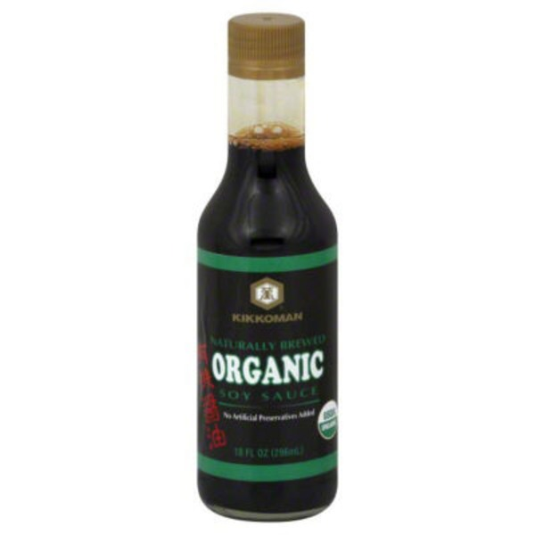 Kikkoman Organic Naturally Brewed Soy Sauce
