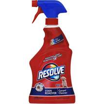 Resolve For Pet Stains Carpet Cleaner
