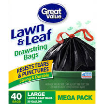Great Value Lawn & Leaf Bags
