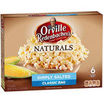 Orville Redenbacher's Natural Simply Salted Microwave Popcorn