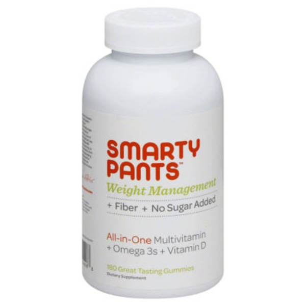 Smarty Pants Multi + Omega 3 + Vitamin D, Weight Management Complete