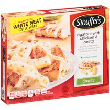 Stouffer's Restaurant Classics Rigatoni Pasta With Roasted White Meat Chicken In A Basil Pesto Sauce
