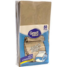 Great Value Brown Lunch Bags