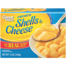 Great Value Premium Shells & Cheese