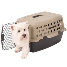 Pet Champion Pet Crate 1'3W x 1'11D x 12H Brown/Black