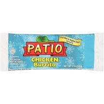 Patio Chicken Burrito
