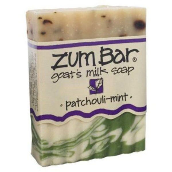 Zum Bar Patchouli-Mint Goat's Milk Bar Soap