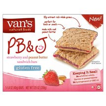 Van's PB&J Strawberry and Peanut Butter Sandwich Bars