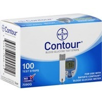 Contour Blood Glucose Test Strips - 100 CT