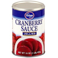 Kroger Jellied Cranberry Sauce