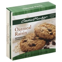 Central Market Oatmeal Raisin Refrigerated Cookie Dough
