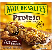 Nature Valley Peanut/Almond & Dark Chocolate Protein Chewy Bars