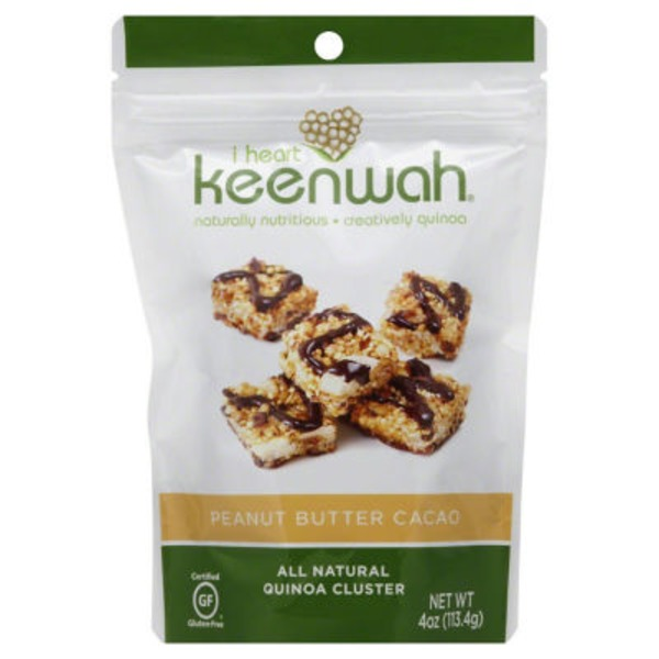 I Heart Keenwah Peanut Butter Cacao Quinoa Clusters