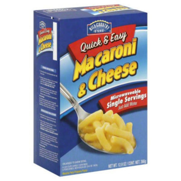 Hill Country Farm Quick & Easy Macaroni And Cheese