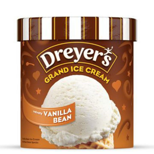 Edy's Vanilla Bean Grand Ice Cream