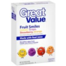 Great Value Fruit Smiles