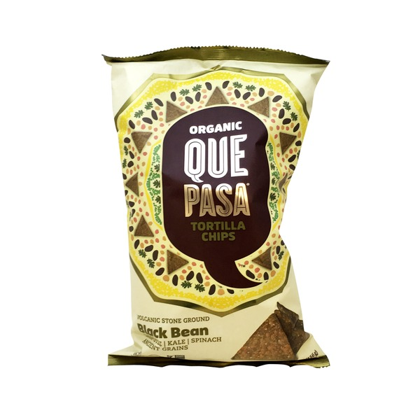 Que Pasa Organic Black Bean Tortilla Chips