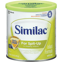 Similac - Sensitive Infant Formula for Spit-Up 12.3 oz Powder