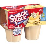 Snack Pack Pudding Vanilla