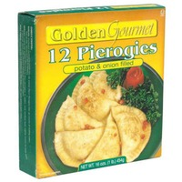 Golden. Pierogies, Potato & Onion
